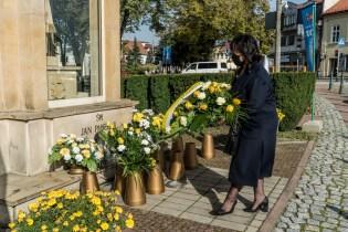 Uroczystość św. Jana Pawła II - Patrona miasta Kalwaria Zebrzydowska - 22 października 2020 r.- fot. Andrzej Famielec - Kalwaria 24-08918-2