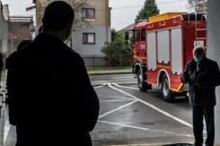 Przekazanie wozu bojowego OSP w Kalwarii Zebrzydowskiej - 3 listopada 2020 r.- fot. Andrzej Famielec - Kalwaria 24-09506