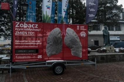 Smog w Kalwarii - 4 grudnia 2020 r.- fot. Andrzej Famielec - Kalwaria 24-09869