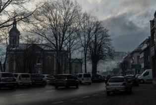 Smog w Kalwarii - 4 grudnia 2020 r.- fot. Andrzej Famielec - Kalwaria 24-09870