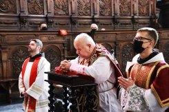 Wielki Piątek w Kalwaryjskim Sanktuarium - 2 kwietnia 2021 r. - fot. o. Franciszek Salezy Nowak OFM