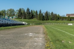 Przekazanie placu budowy bieżni na Kalwariance - 11 maja 2021 r. - fot. Andrzej Famielec - Kalwaria 24-03301