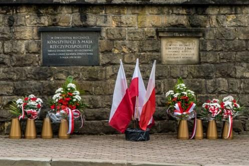 Uroczystości Święta Konstytucji 3 Maja w Kalwarii Zebrzydowskiej 2021 r. - fot. Andrzej Famielec - Kalwaria 24-02958