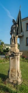 Figura św. Floriana na ul. Jagiellońskiej w Kalwarii Zebrzydowskiej - fot. Andrzej Famielec-05037