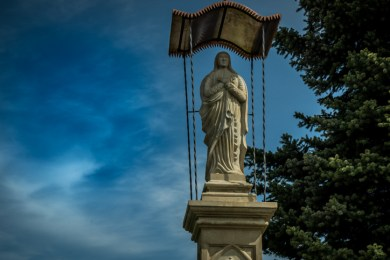 Odbiór kapliczki w Stanisławiu Dolnym - 27 maja 2021 r. - fot. Andrzej Famielec - Kalwaria 24-03611