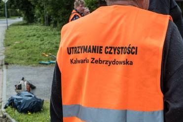 Prace interwencyjne w Kalwarii Zebrzydowskiej - 2021 r. - fot. Andrzej Famielec-04069