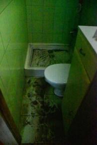 zalane mieszkania na ul. Kolejowej - fot. Kamila Pindel