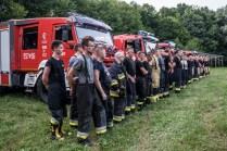 Gminne ćwiczenia OSP - 13 lipca 2021 r. - fot. Andrzej Famielec - Kalwaria 24-06915