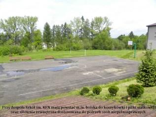 Będą nowe boiska przy powiatowych szkołach. Tym razem w Kalwarii Zebrzydowskiej - KEN