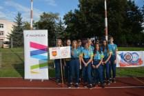 Młodzieżowa Drużyna Pożarnicza z OSP w Przytkowicach zdobyła Mistrza Polski - 27 sierpnia 2021 r. - fot. OSP Przytkowice