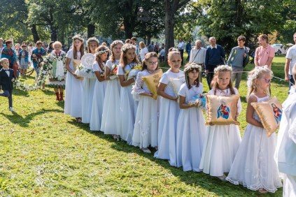 Uroczystości Wniebowzięcia NMP w Kalwaryjskim Sanktuarium - 22 sierpnia 2021 r. - fot. Andrzej Famielec - Kalwaria 24-00115
