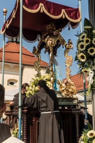 Uroczystości Wniebowzięcia NMP w Kalwaryjskim Sanktuarium - 22 sierpnia 2021 r. - fot. Andrzej Famielec - Kalwaria 24-00298