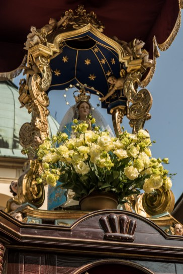 Uroczystości Wniebowzięcia NMP w Kalwaryjskim Sanktuarium - 22 sierpnia 2021 r. - fot. Andrzej Famielec - Kalwaria 24-00317