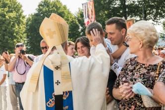 Uroczystości Wniebowzięcia NMP w Kalwaryjskim Sanktuarium - 22 sierpnia 2021 r. - fot. Andrzej Famielec - Kalwaria 24-00342