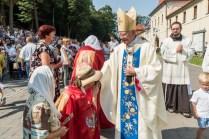 Uroczystości Wniebowzięcia NMP w Kalwaryjskim Sanktuarium - 22 sierpnia 2021 r. - fot. Andrzej Famielec - Kalwaria 24-00367