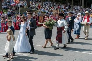 Uroczystości Wniebowzięcia NMP w Kalwaryjskim Sanktuarium - 22 sierpnia 2021 r. - fot. Andrzej Famielec - Kalwaria 24-00513