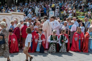 Uroczystości Wniebowzięcia NMP w Kalwaryjskim Sanktuarium - 22 sierpnia 2021 r. - fot. Andrzej Famielec - Kalwaria 24-00518