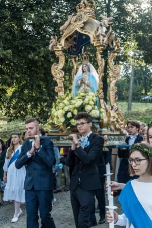 Uroczystości Wniebowzięcia NMP w Kalwaryjskim Sanktuarium - 22 sierpnia 2021 r. - fot. Andrzej Famielec - Kalwaria 24-09943