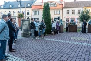Wernisaż wystawy prof. Karola Badyny w Kalwarii Zebrzydowskiej - 9 sierpnia 2021 r. - fot. Andrzej Famielec - Kalwaria 24-08411
