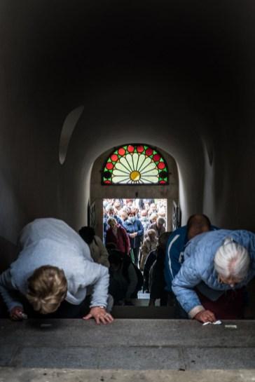 29 Pilegrzymka Rodzin Archidiecezji Krakowskiej do Sankturium w Kalwarii Zebrzydowskiej - 5 września 2021 r. - fot. Andrzej Famielec - Kalwaria 24-01513
