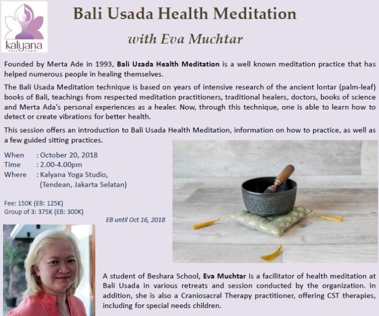 bali usada health meditation