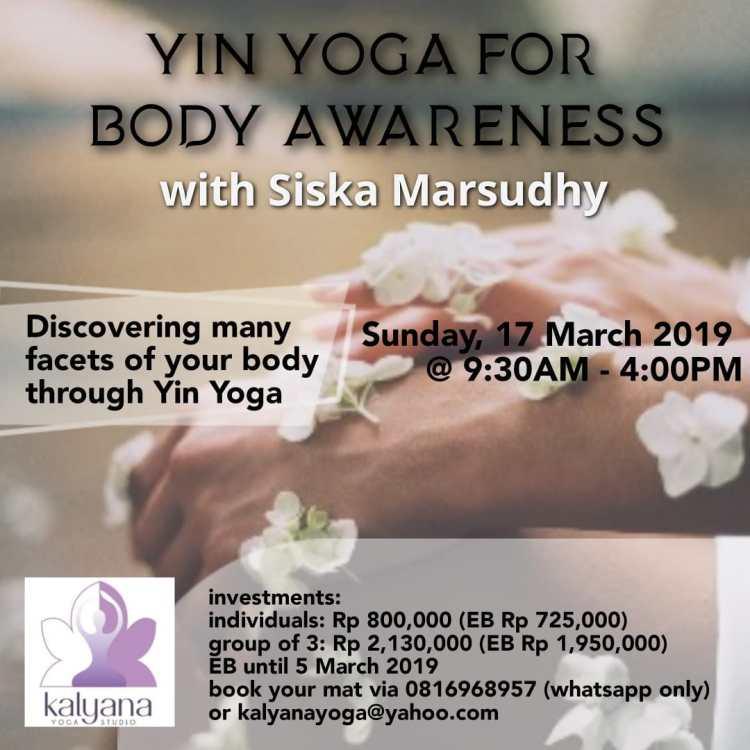 yin yoga for body awaress
