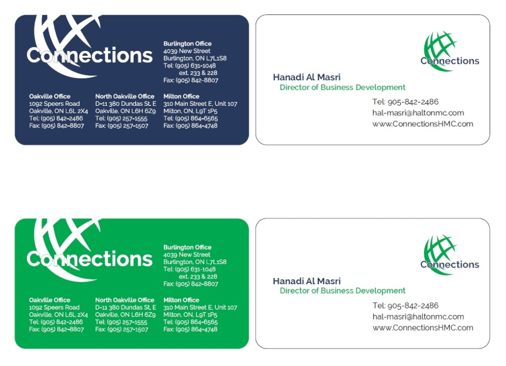 HMC – Business Card | letterhead | Brochure | Knot Design/Photography