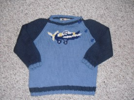 toddler sweater - original (cotton)