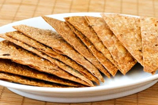 Top image for Gluten-Free and Whole Grain Baked Brown Rice Tortilla Chips