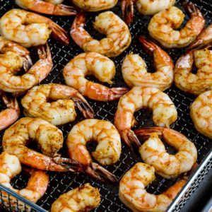 Air Fryer Shrimp close-up photo