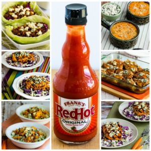 My Favorite Low-Carb Recipes with Frank's Red Hot Sauce