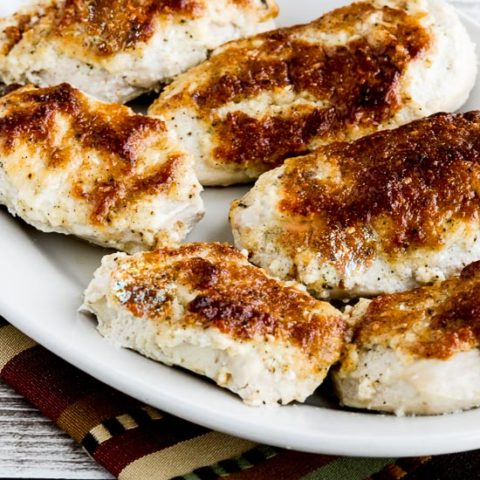Internet's Best Low-Carb Baked Mayo-Parmesan Chicken
