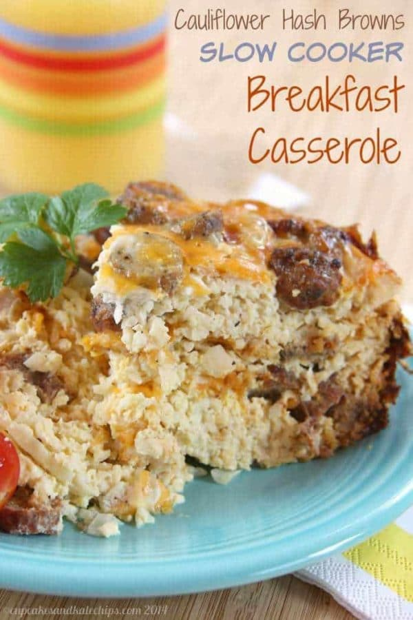Low-Carb and Keto Breakfast Casseroles Your Family Will Love! found on KalynsKitchen.com