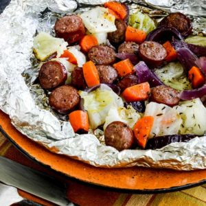 Low-Carb Autumn Tin Foil Dinners found on KalynsKitchen.com