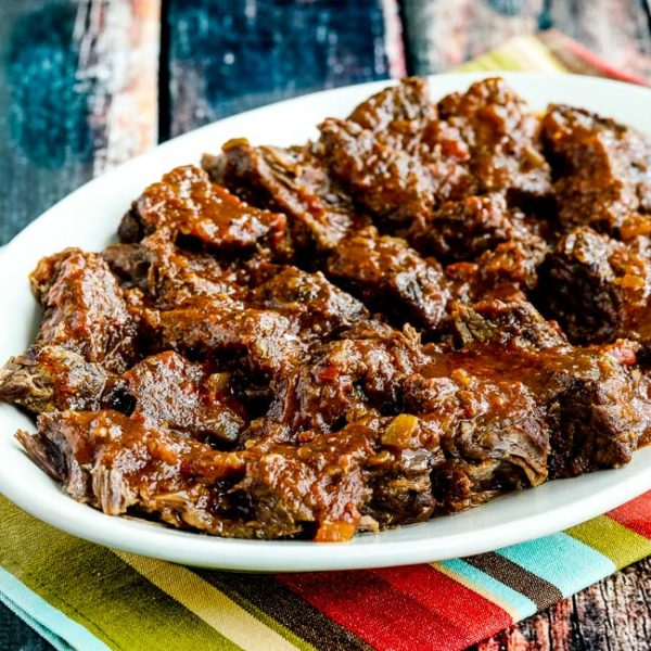 Instant Pot Low-Carb Southwestern Pot Roast found on KalynsKitchen.com