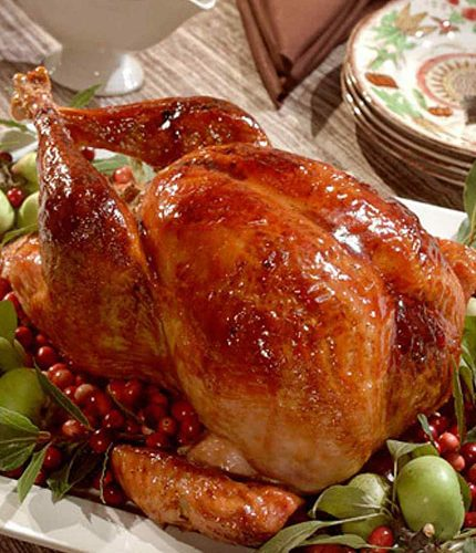 Agave-Glazed Smoked Turkey
