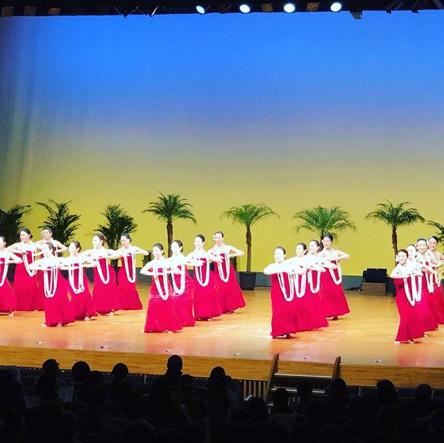 夢舞台 で踊ってきました。応援に来てくださったみんなありがとう️#performed #hula on a stage #studiokamakani #スタジオカマカニ #フラ教室千葉