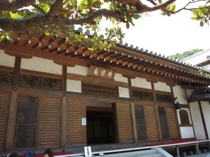 円覚寺、佛日庵。本尊は南北朝時代につくられた延命地蔵尊です。普段は非公開ですが、時折公開されます。