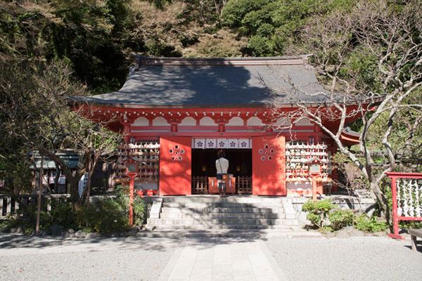 荏柄天神社。
