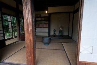 旧川喜多別邸(旧和辻邸)居間。