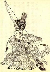明治時代、菊池容斎により描かれた源為朝