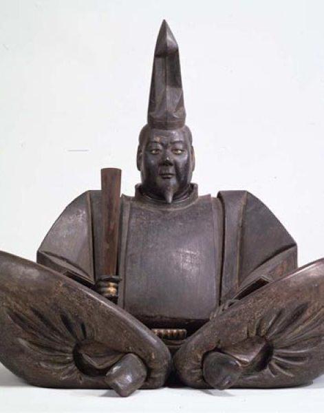 源頼朝坐像。13世紀に造られた国の重要文化財。画像提供:東京国立博物館(http://www.tnm.jp/)