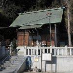 近殿神社。三浦義村を祀ります。義村は源頼朝挙兵から第3代執権北条泰時の時代まで活躍した鎌倉幕府最重要人物のひとり。三浦の地に栄えた三浦氏の6代目当主です。