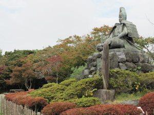 2014年11月6日、源氏山公園の紅葉色づき情報