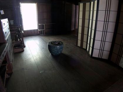 旧石井家住宅の「でい」と呼ばれる部屋。
