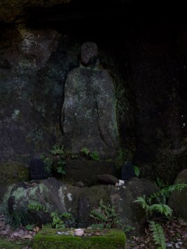 巡礼古道にある金剛窟地蔵尊。