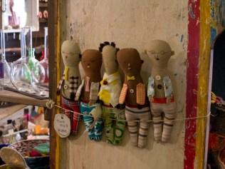 SOUK SOUK SOUK。フェルトの人形、セニョールセニョーラ(2,900円)。