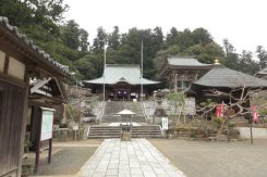 清澄寺境内。