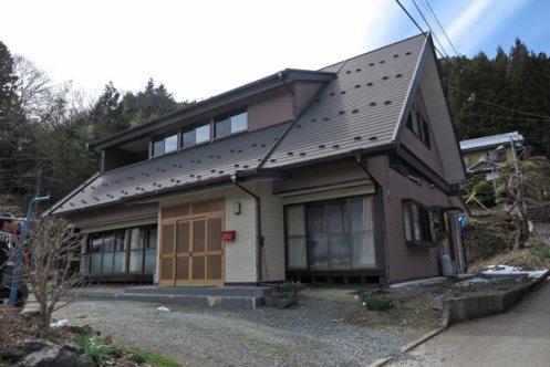 道志村の「宿」。富士の巻狩りの帰路、源頼朝公が泊まられたと伝わります。