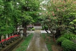 成福寺境内。